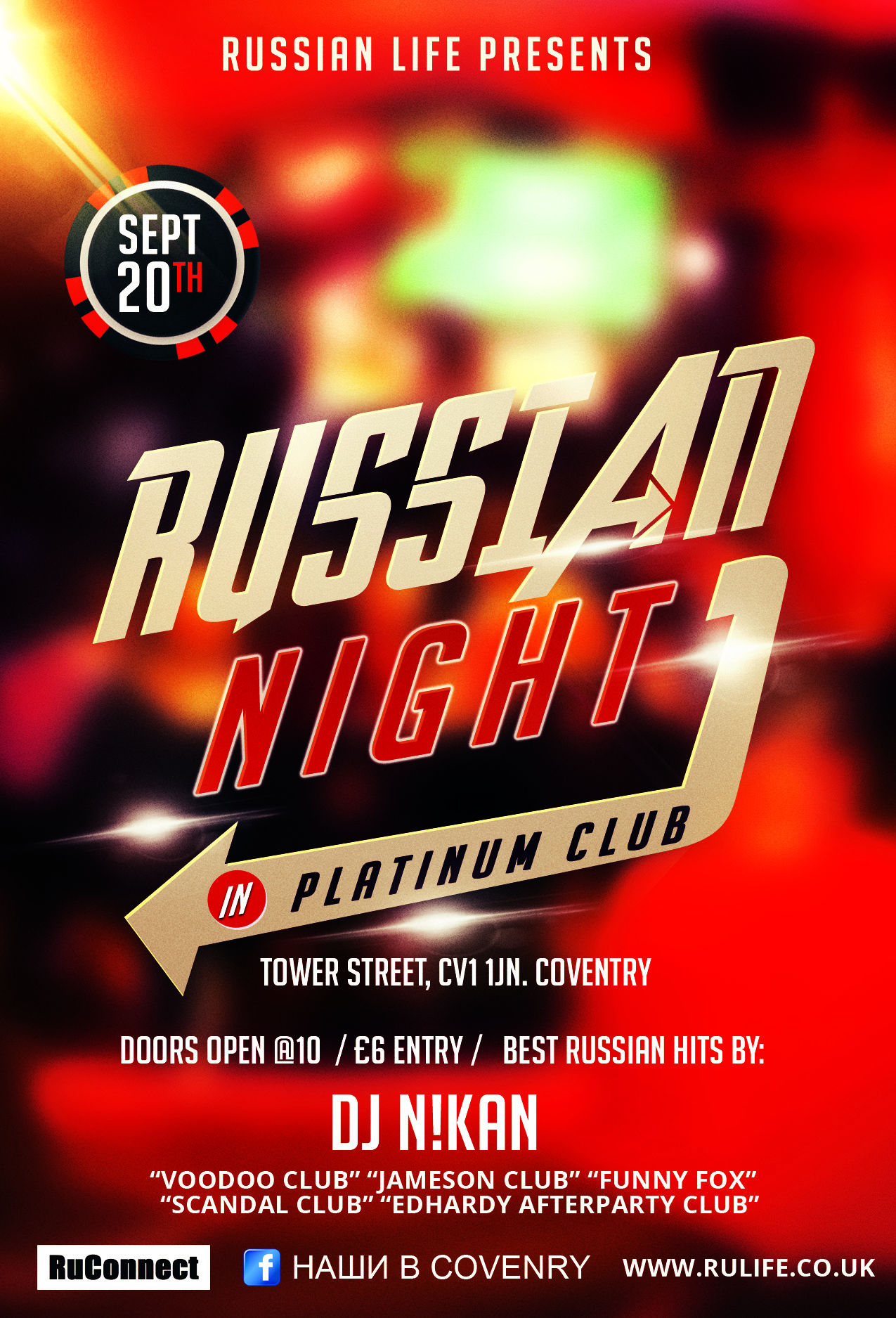 20.09.14 Coventry – Russian Night