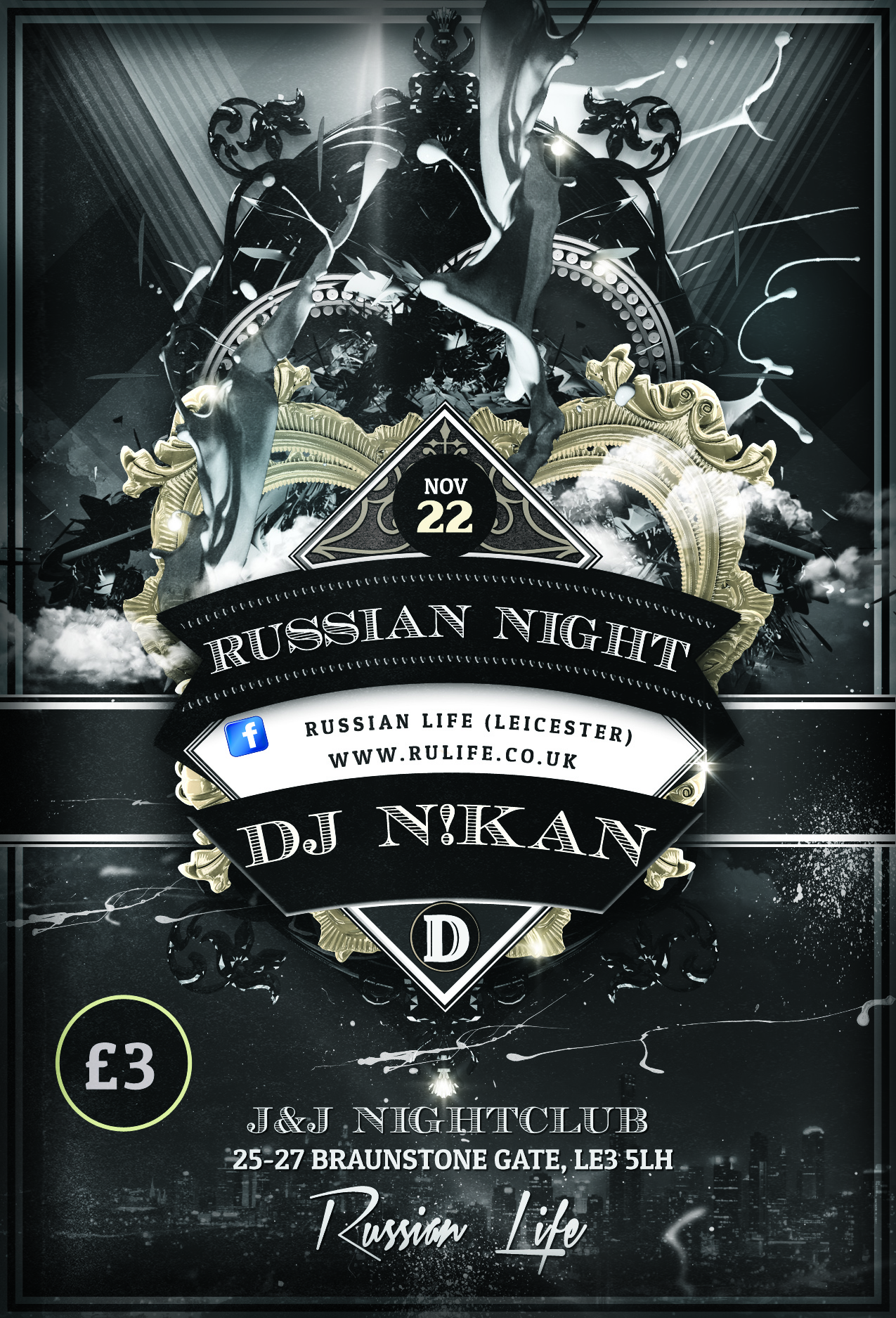 22.11.14 – Leicester – Russian Night