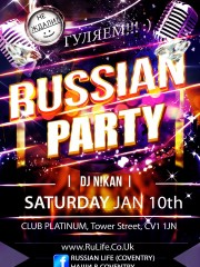 10.01.15 Coventry – Russian Party
