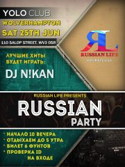25.06.16 Wolverhampton – Russian Party