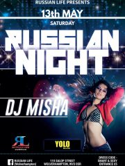 13.05.17 Wolverhampton – Russian Party