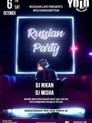 06.10.18 Wolverhampton – Russian Party
